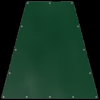 Bâche en forme de trapèze isocèle