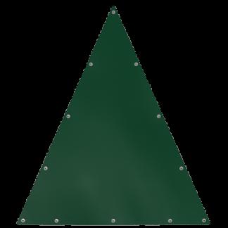 Bâche en forme de triangle isocèle