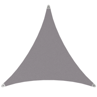 Voile solaire triangulaire