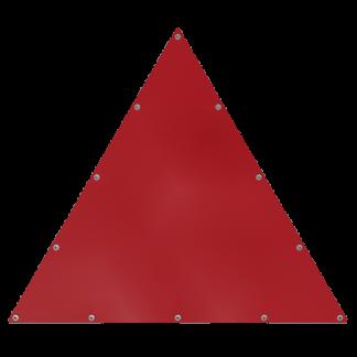 Bâche triangulaire